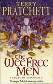 """The wee free men a story of Discworld"" av Terry Pratchett"