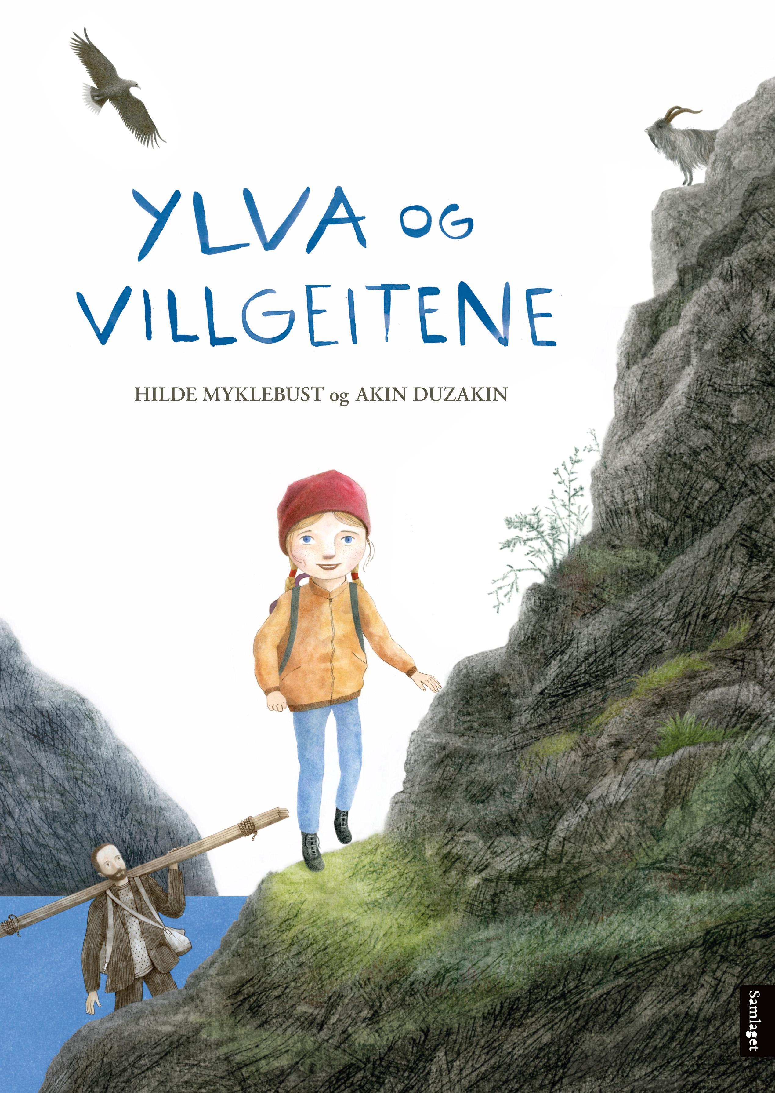 """""""Ylva og villgeitene"""" av Hilde Myklebust"""