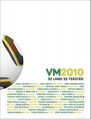 """""""VM 2010 - 32 land, 33 tekster"""" av Forfatterlandslaget"""