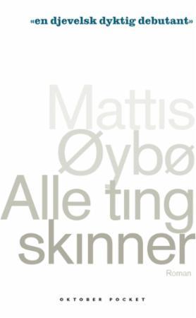 """""""Alle ting skinner - roman"""" av Mattis Øybø"""