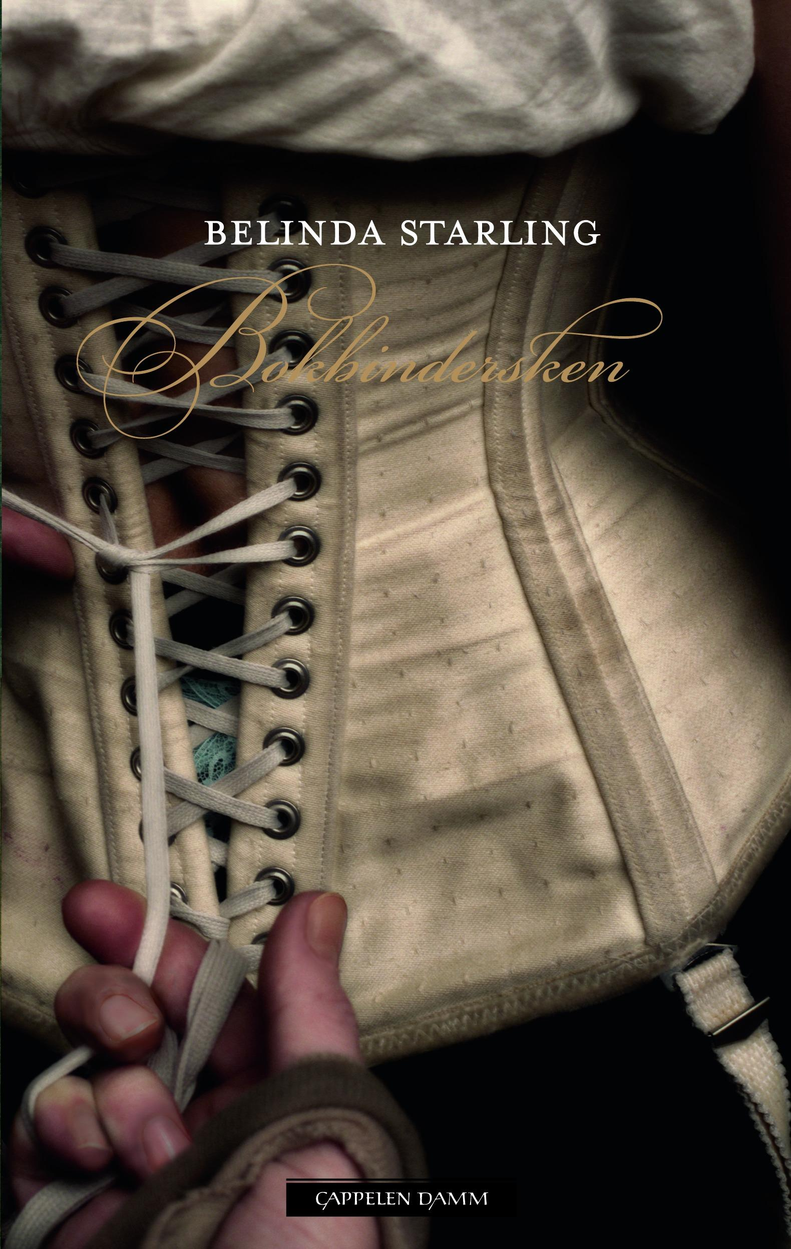 """Bokbindersken - dagboken til Dora Damage"" av Belinda Starling"