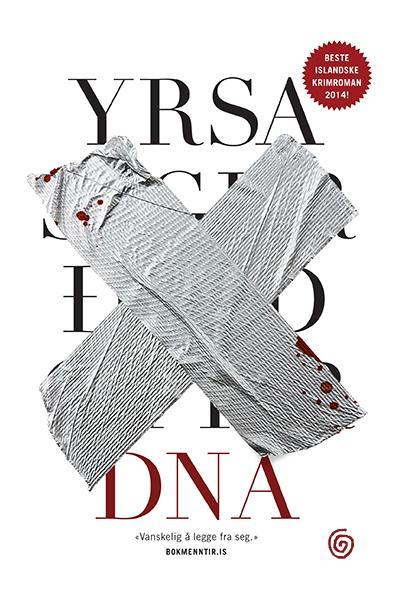 """DNA - kriminalroman"" av Yrsa Sigurdardóttir"