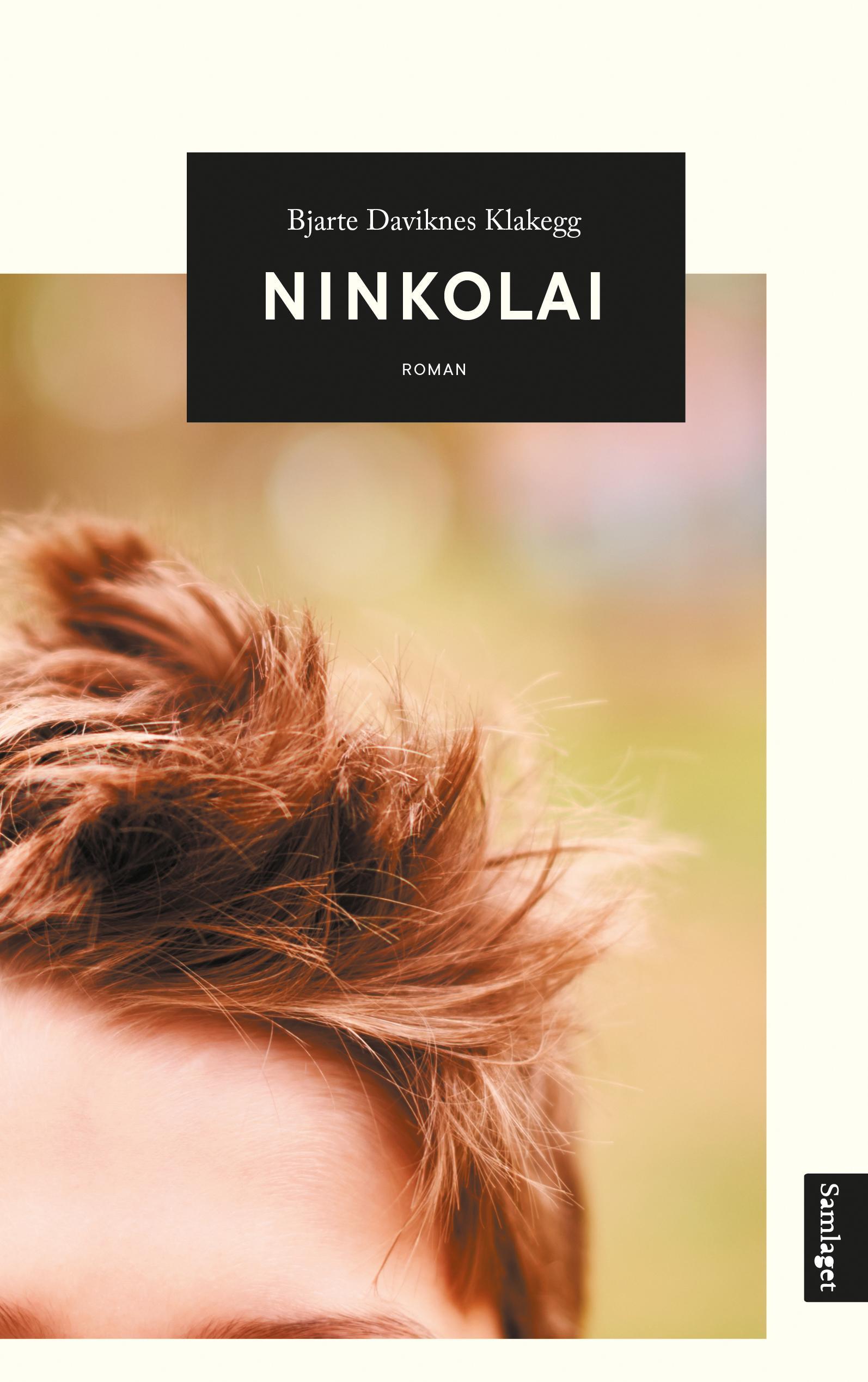 """Ninkolai - roman"" av Bjarte Daviknes Klakegg"