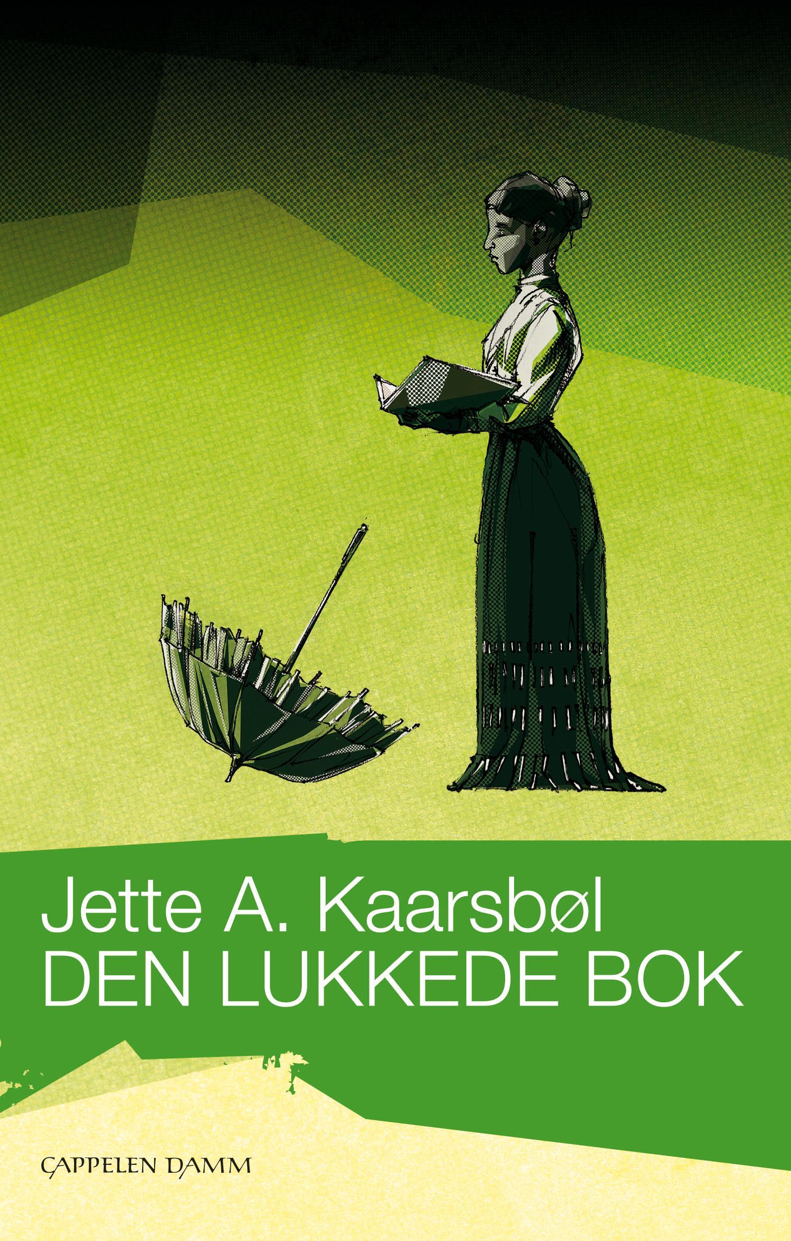 """""""Den lukkede bok - roman"""" av Jette A. Kaarsbøl"""