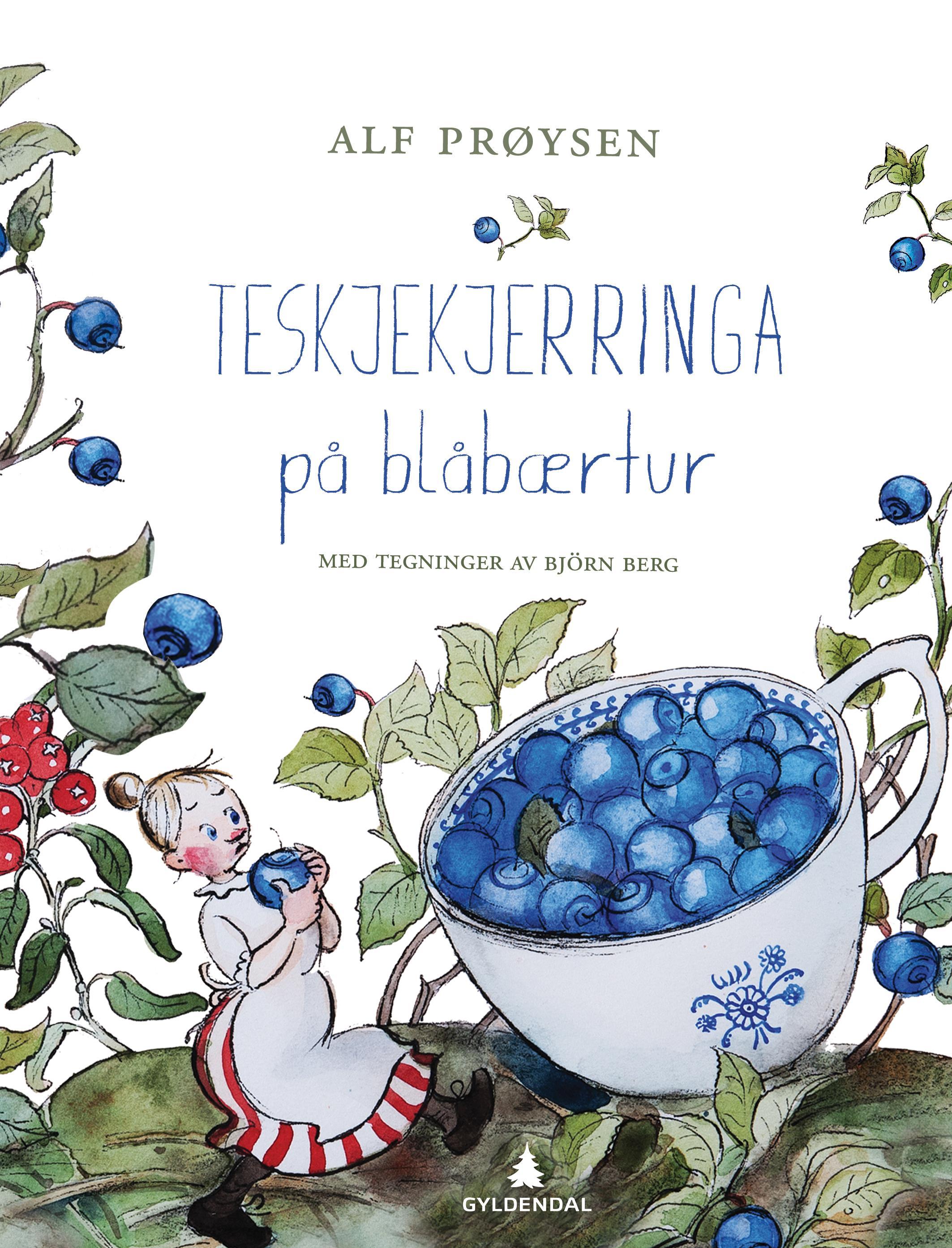"""""""Teskjekjerringa på blåbærtur"""" av Alf Prøysen"""