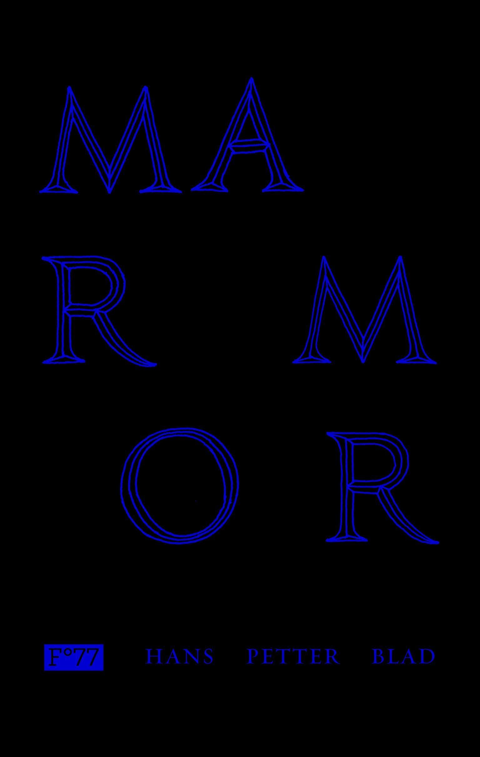 """""""Marmor"""" av Hans Petter Blad"""