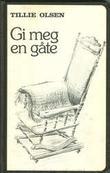 """""""Gi meg en gåte"""" av Tillie Olsen"""