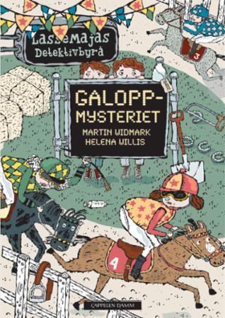 """""""Galoppmysteriet"""" av Martin Widmark"""