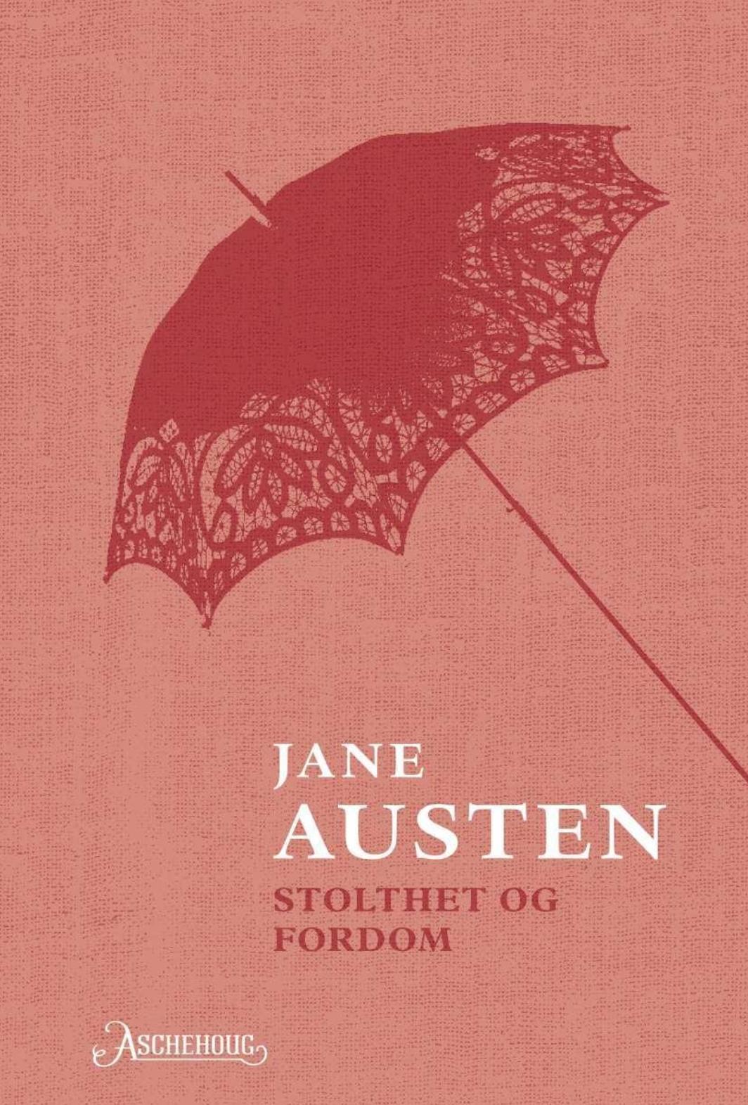 """""""Stolthet og fordom"""" av Jane Austen"""