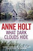 """""""What dark clouds hide"""" av Anne Holt"""