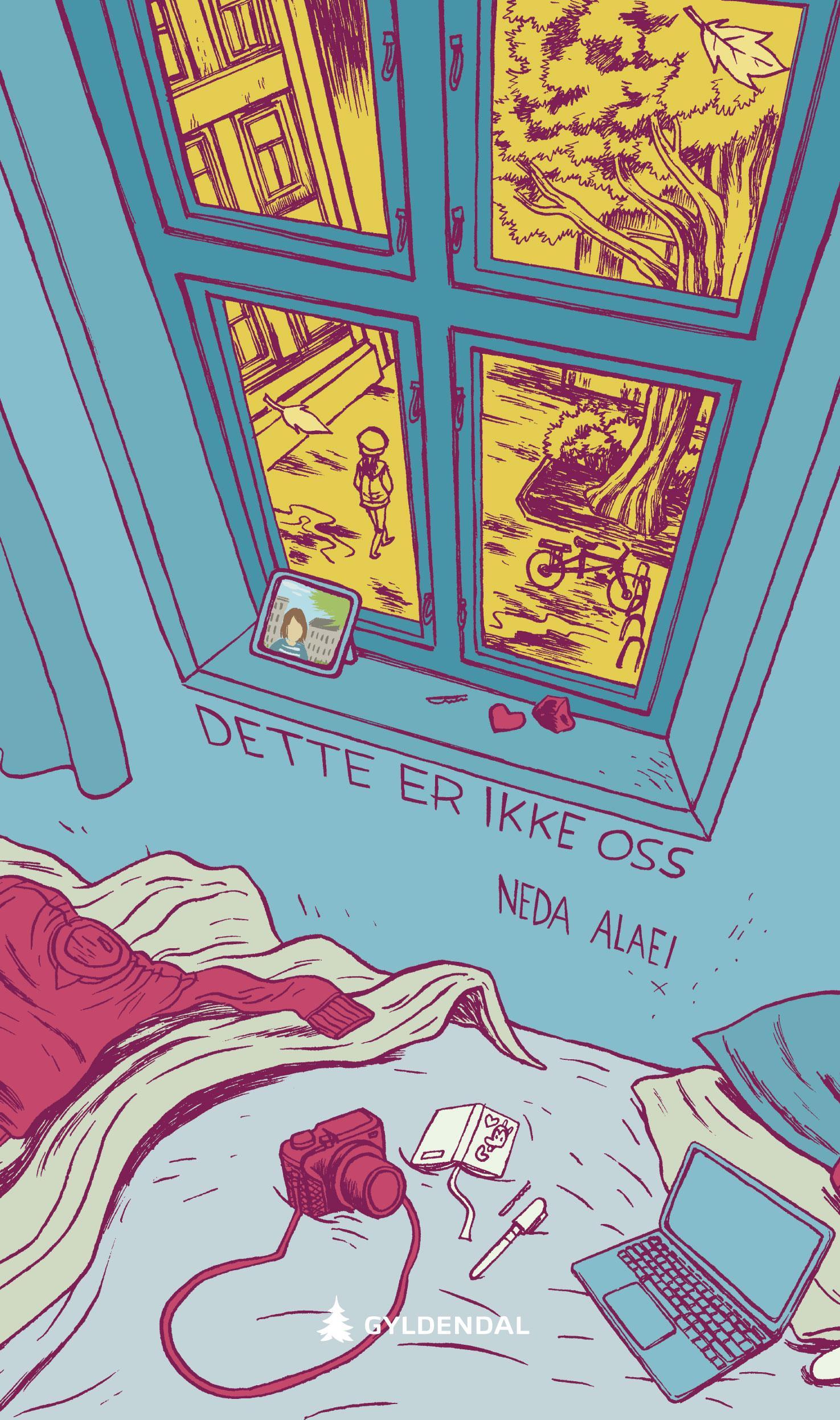 """""""Dette er ikke oss - roman"""" av Neda Alaei"""