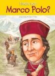 """""""Hvem var Marco Polo?"""" av Joan Holub"""