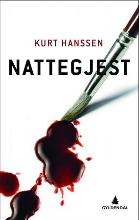 """Nattegjest - kriminalroman"" av Kurt Hanssen"