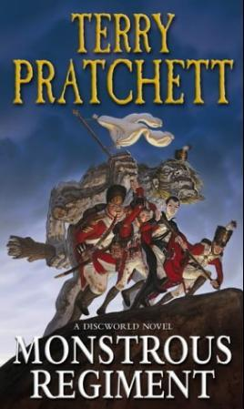 """""""Monstrous regiment"""" av Terry Pratchett"""