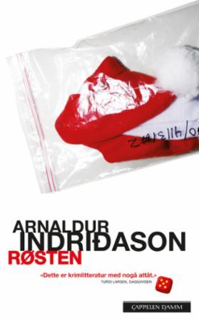 """""""Røsten"""" av Arnaldur Indridason"""
