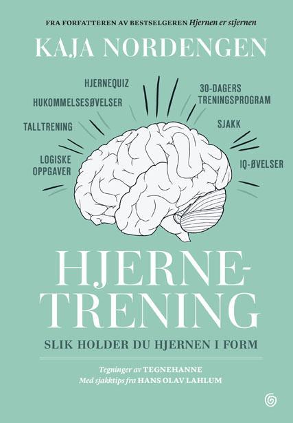"""""""Hjernetrening - slik holder du hjernen i form"""" av Kaja Nordengen"""