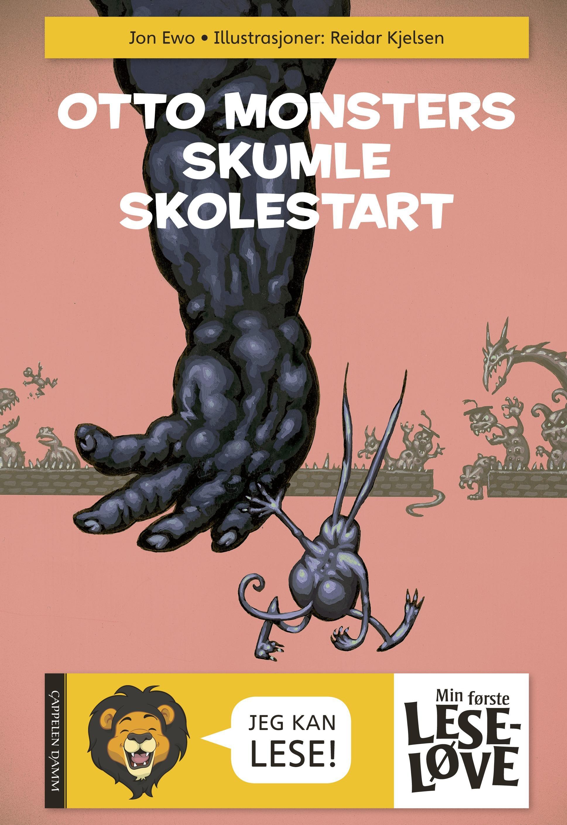 """""""Otto monsters skumle skolestart"""" av Jon Ewo"""