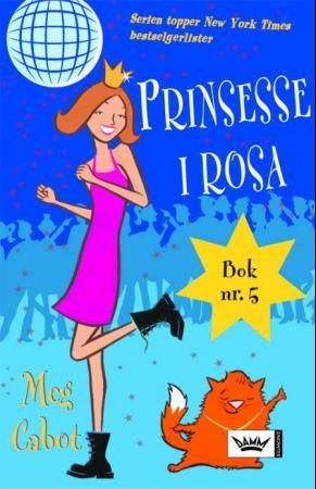 """""""Prinsesse i rosa - en prinsesses dagbok, del V"""" av Meg Cabot"""