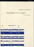 """""""Rettferdighet som rimelighet en reformulering"""" av John Rawls"""