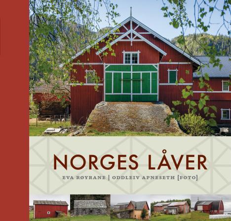 """""""Norges låver"""" av Eva Røyrane"""