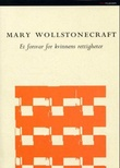 """""""Et forsvar for kvinnens rettigheter"""" av Mary Wollstonecraft"""