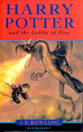 """""""Harry Potter and the goblet of fire"""" av J.K. Rowling"""
