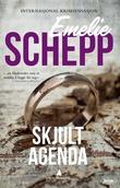 """""""Skjult agenda kriminalroman"""" av Emelie Schepp"""