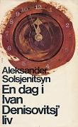 """""""En dag i Ivan Denisovitsj`liv"""" av Aleksander Solsjenitsyn"""
