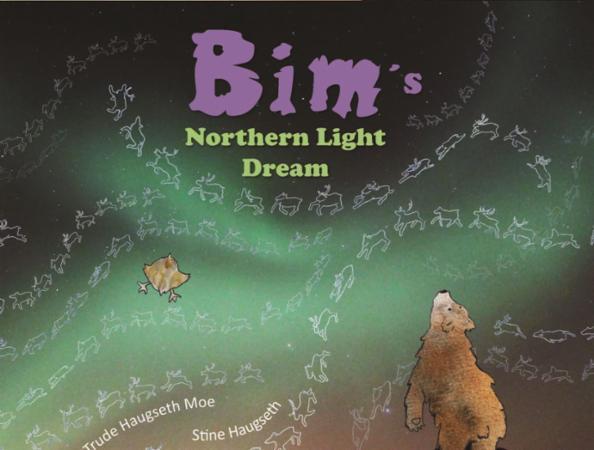 """Bim's northern light dream"" av Trude Haugseth Moe"