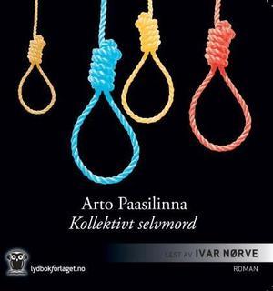 """""""Kollektivt selvmord - roman"""" av Arto Paasilinna"""
