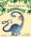 """""""Daniel møter en diplodocus"""" av Lisa Bjärbo"""