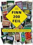 """""""Finn 200 feil hysterisk morsomme skilt, lapper og skriblerier"""" av Christer Torjussen"""