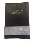 """""""Det nye testamente med Salmane Bibelen - Guds ord"""" av Norvald Yri"""