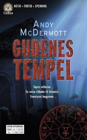 """""""Gudenes tempel"""" av Andy McDermott"""