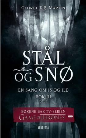 """""""Stål og snø - bok 3 - del 1"""" av George R.R. Martin"""