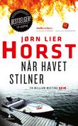"""""""Når havet stilner kriminalroman"""" av Jørn Lier Horst"""
