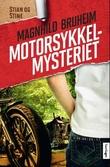 """Motorsykkelmysteriet - roman"" av Magnhild Bruheim"