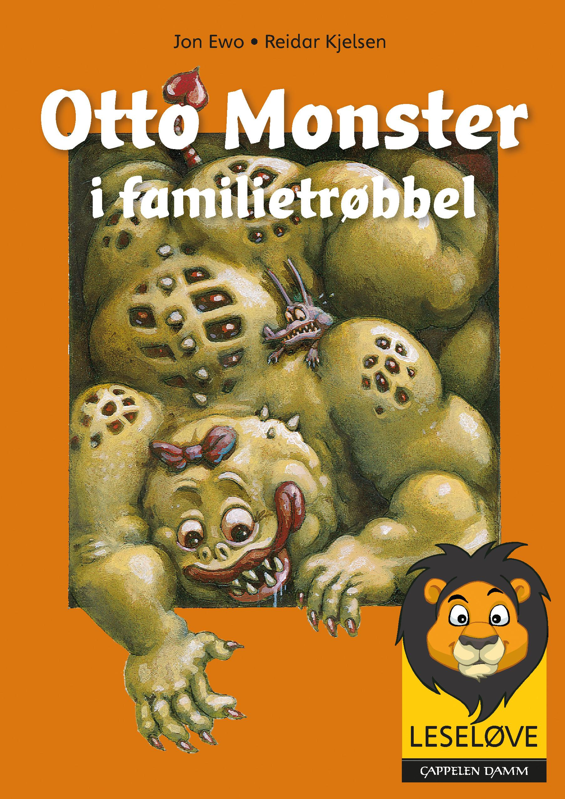 """""""Otto Monster i familietrøbbel"""" av Jon Ewo"""