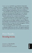 """""""Stendig storm"""" av Peter Handke"""