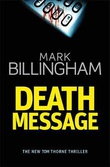 """Death message"" av Mark Billingham"