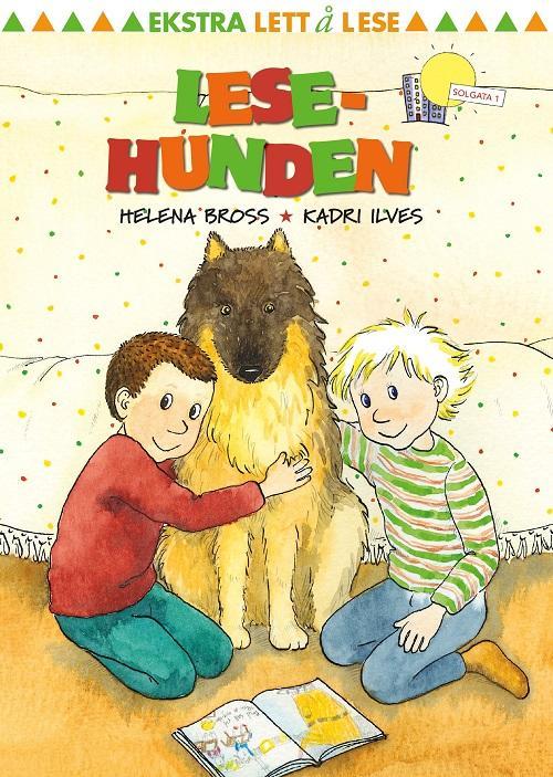 """""""Lesehunden"""" av Helena Bross"""