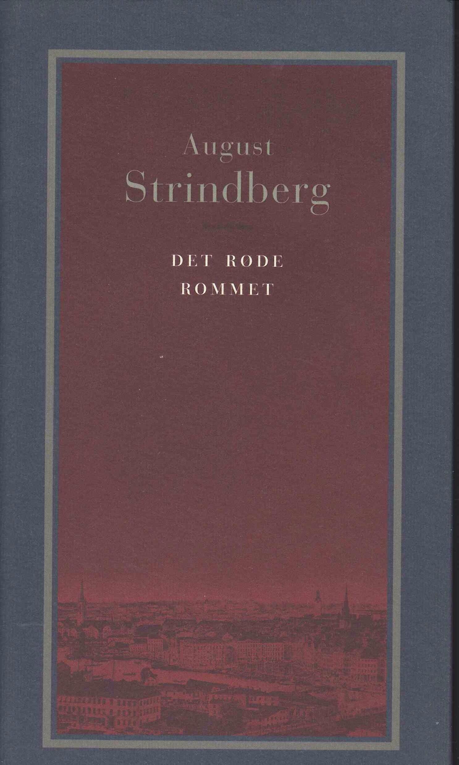 """""""Det røde rommet"""" av August Strindberg"""