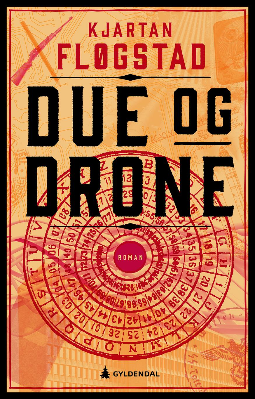 """Due og drone - roman"" av Kjartan Fløgstad"