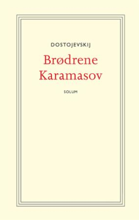 """Brødrene Karamasov"" av Fjodor Mikhajlovitsj Dostojevskij"