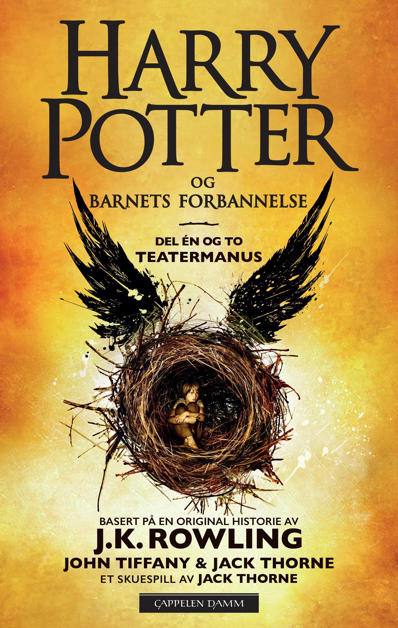 """""""Harry Potter og barnets forbannelse - del én og to"""" av Jack Thorne"""