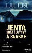 """""""Jenta som sluttet å snakke"""" av Trude Teige"""
