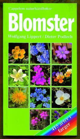 """""""Blomster - 415 arter i farger"""" av Wolfgang Lippert"""