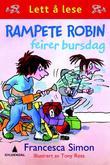 """""""Rampete Robin feirer bursdag"""" av Francesca Simon"""