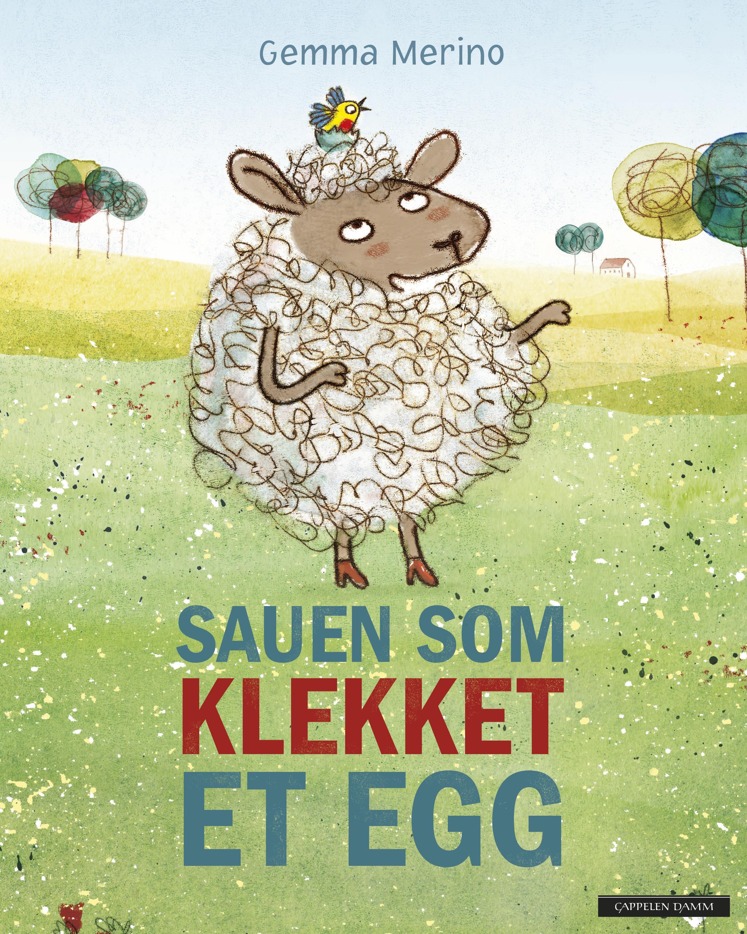 """""""Sauen som klekket et egg"""" av Gemma Merino"""