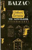 """To noveller - gobseck : Sarrasine"" av Honoré de Balzac"